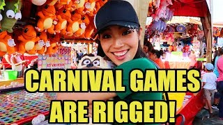 Carnival games are RIGGED!!!