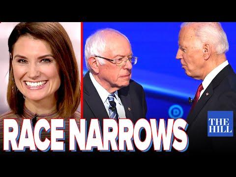 Krystal Ball: Race narrows to Biden v. Bernie as Warren plummets