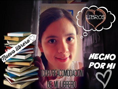 Nuevo librero ¿Hecho por mi? | Bookshelf Tour | Reacomodación de libros - Soñando entre libros