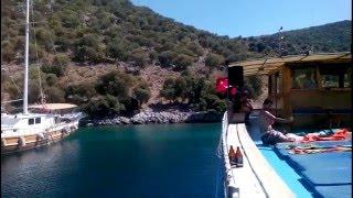 Oludeniz -Turkey (Kızıl Ada Tavşan Adası) Holiday 2016