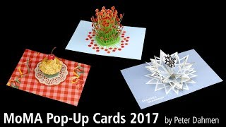 MoMA Pop-Up Cards 2017 by Peter Dahmen