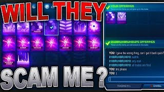 Will They SCAM Me?   Risking the BEST Black Markets With Strangers In Rocket League...