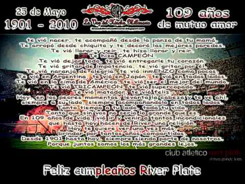 River Plate - 109 Años - Institucional 2010 (Excelente!!!) - El Cultiveta (C.A.R.P.)