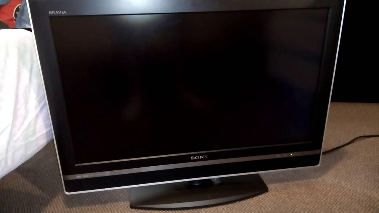 Sony Bravia KDL-32V2500 problem standby LED flickering 9 times