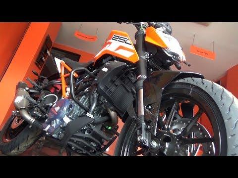 NEW KTM DUKE 250 BSIV AHO FULL WALK AROUND REVIEW.