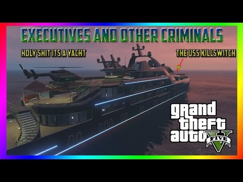 GTA 5 Online Executives and Other Criminals: New Custom Super Yachts, Mansions, and Weapons,