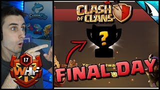 *Final Day* Did WHF Get Promoted to Champs I? CWL Recap | Clash of Clans