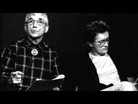 "DANIEL BERRIGAN & MARTIN SHEEN Read ""TO DWELL IN PEACE"" at Chartwell Booksellers (4/4/88)"