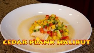 Grilled Halibut Recipe | Cedar Plank Halibut