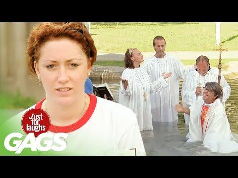 Drowning Baptism Prank