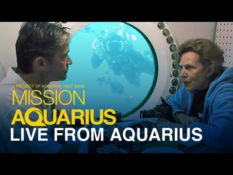 Live From Aquarius - Fabien Cousteau and Dr. Sylvia Earle