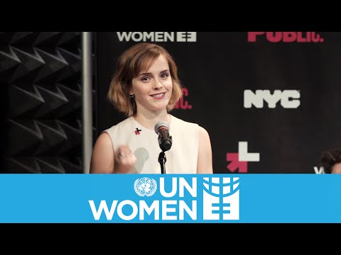 Emma Watson HeForShe Speech on International Women's Day 2016