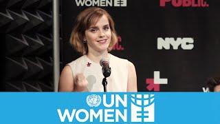 Emma Watson HeForShe Speech on International Women's Day 2016