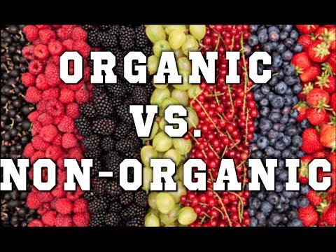 William Science Project : Organic VS. Non-Organic