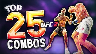 EA Sports UFC 2 - 25 HUGE Knockout COMBOS! EP.2