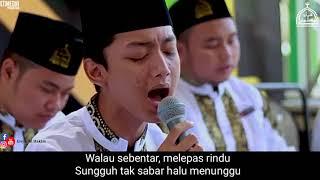 TERBARU!!!... Sholawat Aku Rindu KH. Nuruddin Musyiri (Lirik).. Voc. Gus Azmi Syubbanul Muslimin..