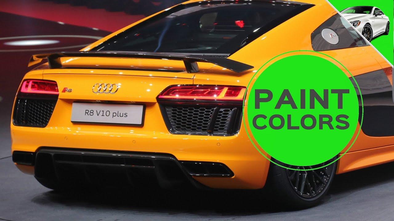2018 audi exclusive colors. plain colors 2017 audi r8 v10 plus paint colors on 2018 audi exclusive colors