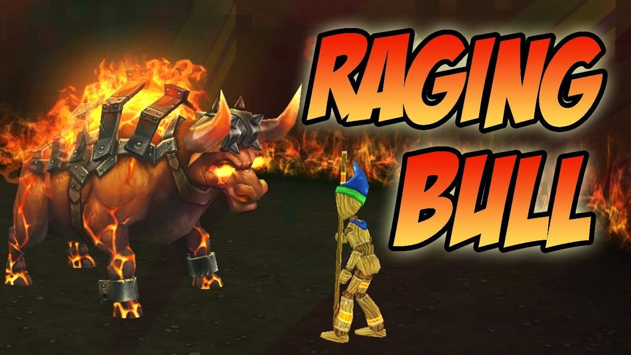 Wizard101: Raging Bull Pet Showcase!