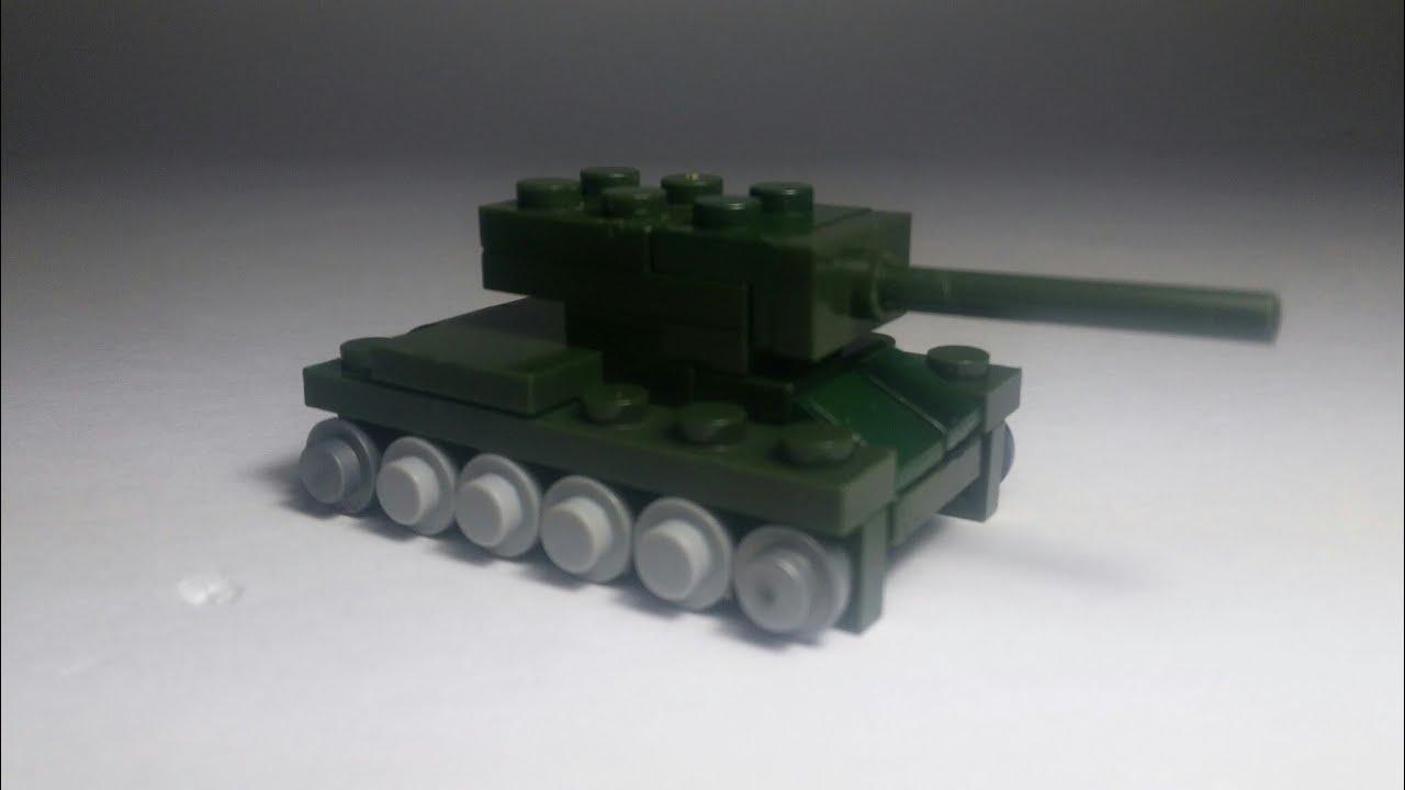 Мини танки #1 Мини КВ-1 из Лего. Lego mini KV-1