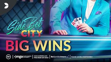 Side Bet City Big Win Compilation | Evolution Gaming