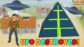 Rocket Royale - We DESTROYED The UFO In Rocket Royale!! (super epic)
