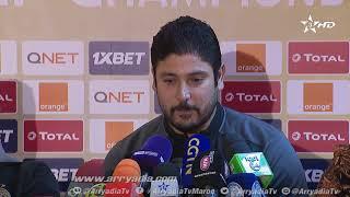 🎙|#مجدي_التراوي المدرب المساعد لفريق #الترجي_التونسي حول مواجهة #الرجاء_الرياضي