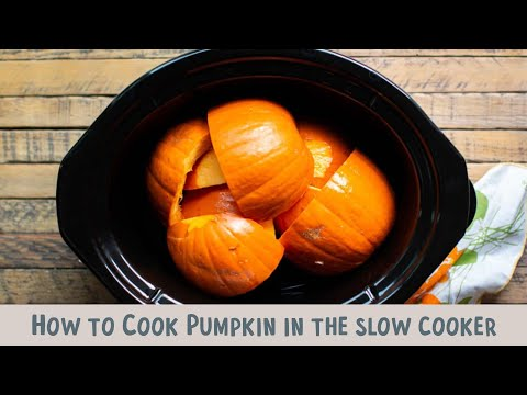 How to Cook Pumpkin in the Slow Cooker