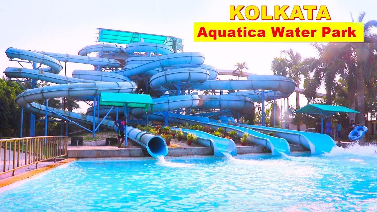 Aquatica Aquatica Water Park Kolkata Khoz Bangla Youtube