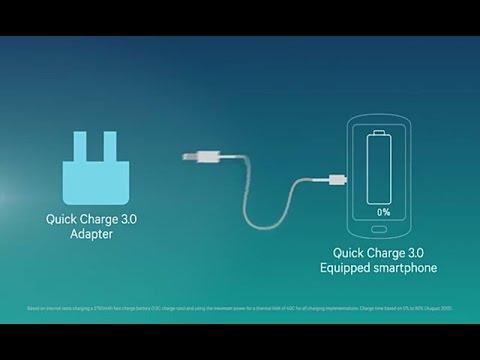 Qualcomm 3.0 - La migliore tecnologia per ricaricare il tuo cellulare senza danneggiare la batteria