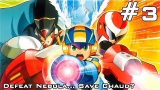 Mega Man Battle Network 5: Double Team DS - Part 3: Defeat Nebula.. Save Chaud?