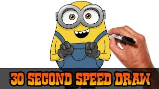 Bob (Minions)-  30 Second Speed Draw
