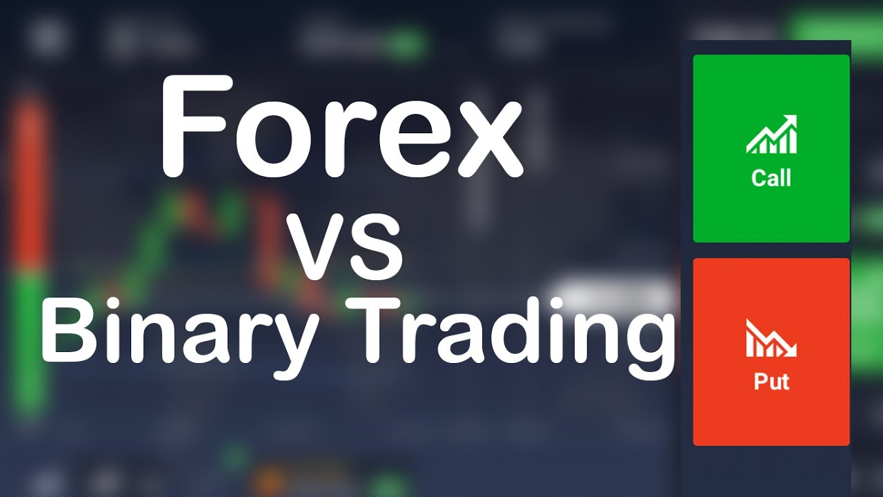 difference between forex trading and binary options trading
