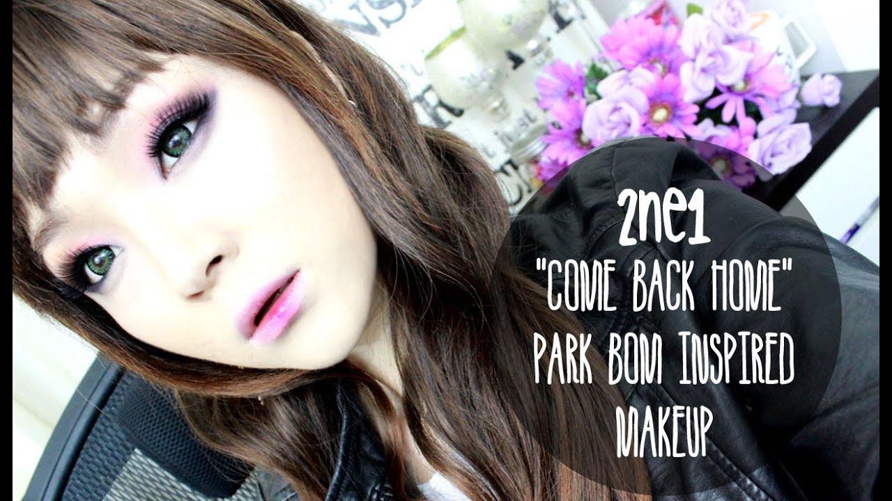 2ne1 come back home park bom inspired makeup - 2ne1 come back home wallpaper ...