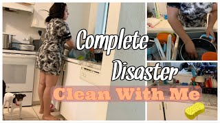 CLEAN WITH ME// COMPLETE DISASTER!!!//EXTREME CLEANING MOTIVATION//WEEKEND ROUTINE