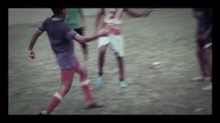 Village football team ,old time records game