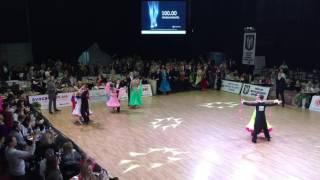 Зеленова Александра и Фальшовник Александр. Квикстеп. Kyiv Open 2016