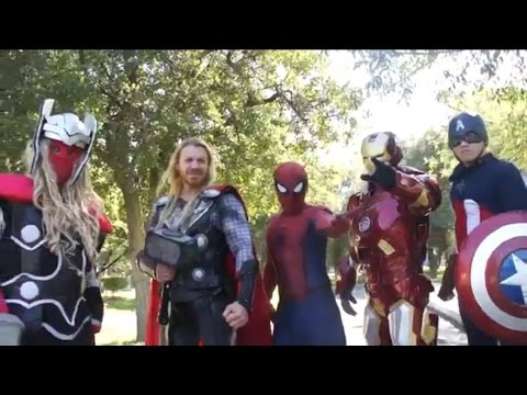 vengadores Manito y Maskarin / Avengers - Thor - Super Heroes