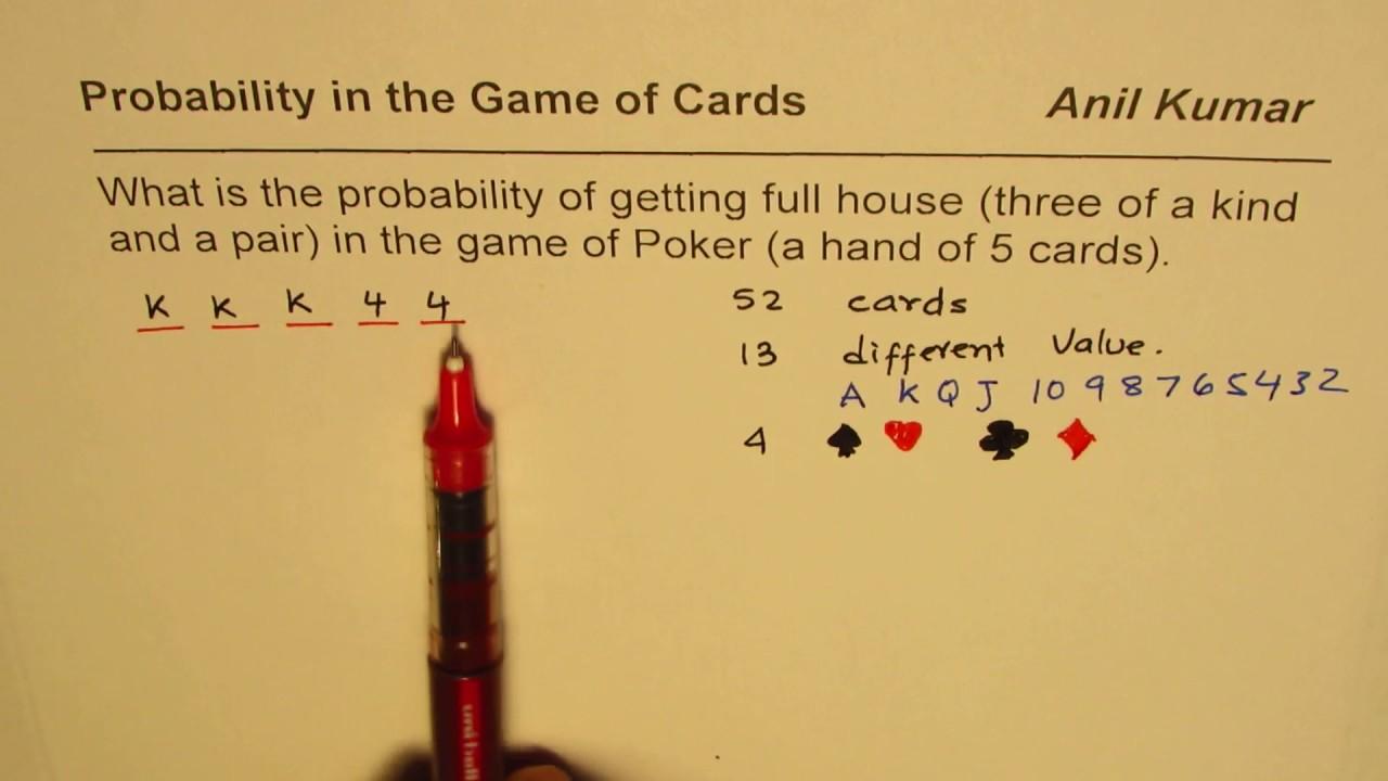 Full house poker probability cartoon slot machine pics