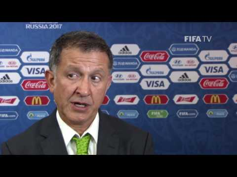 Juan Carlos Osorio Reaction to FIFA Confederations Cup Official Draw