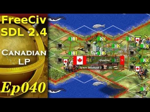 FreeCiv 2.4.0 [SDL Client] Canadian LP - Ep040