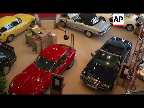 Classic cars on display at Berlin exhibition