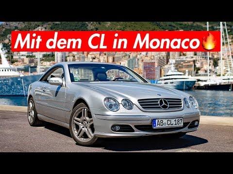 1000€ Strafe und 120 Stunden konfisziert in Monaco | RB Engineering | Mercedes Benz C215 CL 500
