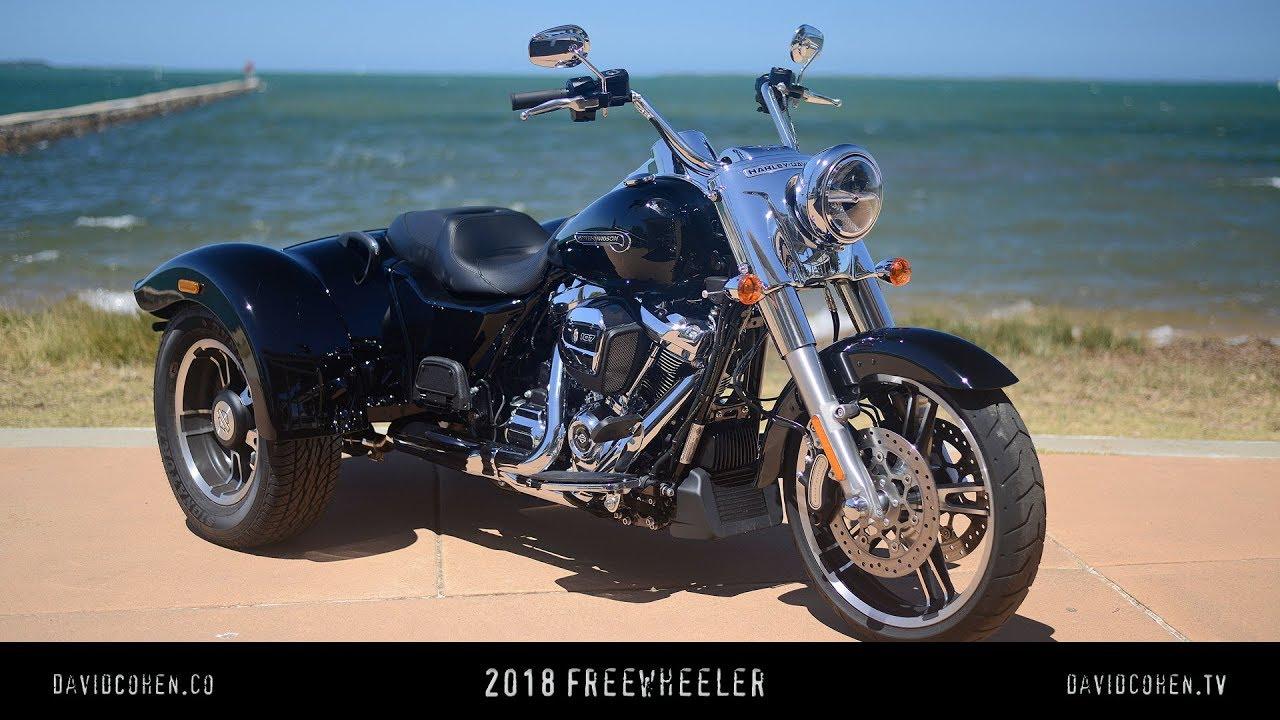2018 Harley Freewheeler Test Ride