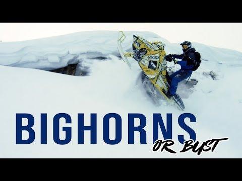 SLED THE BIGHORNS