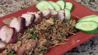 Chinese Roast Pork Fried Rice