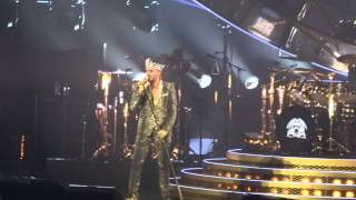 Queen +Adam Lambert We will rock you live 2014 Montreal