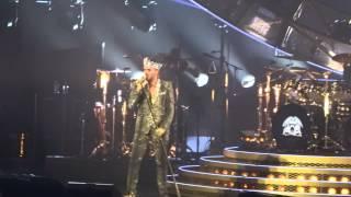 Queen +Adam Lambert We will rock you live 2014 Montreal