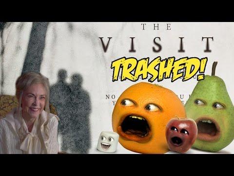 Annoying Orange – THE VISIT TRAILER Trashed! (M. Night Shayamalama ding dong's New Film)