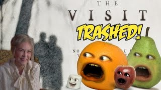 Annoying Orange - THE VISIT TRAILER Trashed! (M. Night Shayamalama ding dong
