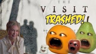 Annoying Orange - THE VISIT TRAILER Trashed! (M. Night Shayamalama ding dong